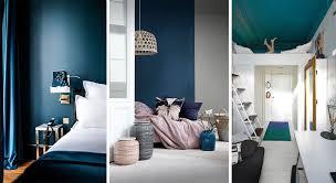 bleu chambre chambre bleue 17 idées deco photos inspirations conseils