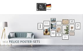 félice moderne wand bilder für das wohnzimmer schlaf zimmer flur wand deko modern wand dekoration wohnung relax maritime vintage