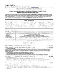 Manager Resume Example Sales And Marketing Examples Click Here To Download This Or