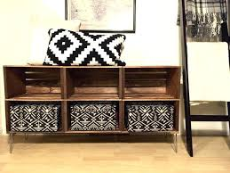 Wooden Crate Tv Stand Handmade Unit W Style Design By Diy Wood