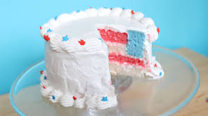 How to Make a Mini Fourth of July Surprise Cake