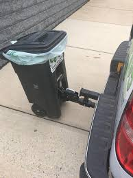This Pickup Truck Garbage Can Hitch. : Specializedtools Vestil Hitchmounted Truck Jib Crane 2019nissanfrontierspywheelshitchcamo The Fast Lane Stinger Hitch Find Lori Pinterest Utility Trailer Camper And Pintle Hitch Palmer Power Equipment Indianapolis Luverne Tow Guard For 2 212 3 Receiver Towing Where To Attach Ball On 1989 10ft Former Uhaul Truck Step Cap World Amazoncom Trimax Trz8al 8 Premium Alinum Adjustable With Getting Hitched Theories On Which Is Right For You Big Weatherproof Cargo Bag Fits 60 Trailer Tray Winterialcom Common Towing Mistakes Rv Magazine