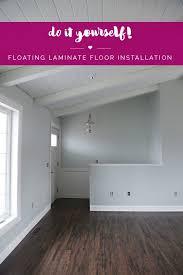 Installing Laminate Floors In Kitchen by Best 25 Laminate Flooring Installation Cost Ideas On Pinterest