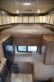 Palomino SS 550 Pop Up Truck Camper Inside