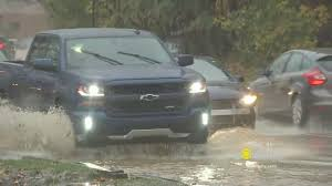 100 Kelly Car And Truck Overnight Rain Triggers Flooding Across Area CBS Philly