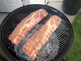 Bbq Pit Sinking Spring by Smoking Amazing Ribs With A Weber Smokey Mountain Wsm