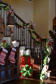 Decorate Stair Railing Christmas How To Interior Design Fun New ... Christmas Decorating Ideas For Porch Railings Rainforest Islands Christmas Garlands With Lights For Stairs Happy Holidays Banister Garland Staircase Idea Via The Diy Village Decorations Beautiful Using Red And Decor You Adore Mantels Vignettesa Quick Way To Add 25 Unique Garland Stairs On Pinterest Holiday Baby Nursery Inspiring The Stockings Were Hung Part Staircase 10 Best Ideas Design My Cozy Home Tour Kelly Elko