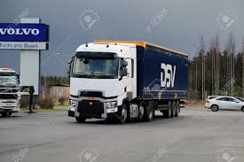 100 Truck Sleeper Cab LIETO FINLAND NOVEMBER 14 2015 Renault S T With High