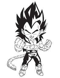 Dragon Ball Z Online Coloring Page