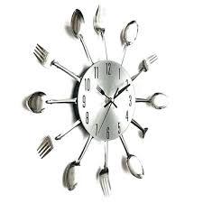 montre de cuisine montre de cuisine horloge pendule ustensile cuisine couvert