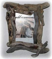 cadre photo bois flotté le de mhl creations