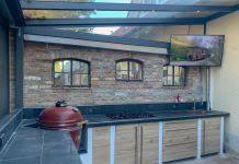 outdoorküche der erste zeichnungsentwurf andys grillstube 2 0