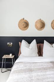 schlafzimmer im half painted stil streichen decor tips