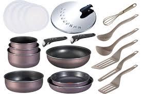 batterie de cuisine tefal pas cher ensemble poele et casserole tefal idées décoration intérieure