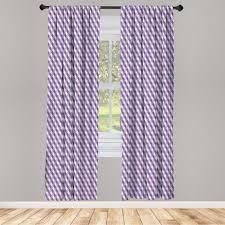 gardine fensterbehandlungen 2 panel set für wohnzimmer schlafzimmer dekor abakuhaus mauve mosaik muster gekreuzte kaufen otto
