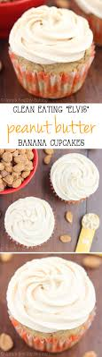 Clean Peanut Butter Banana Cupcakes