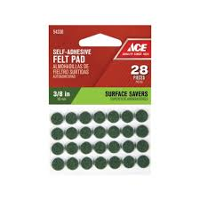 Drill In Cabinet Door Bumper Pads by Ace 1 2in Round Cork Pads Self Adhesive Pads U0026 Furniture
