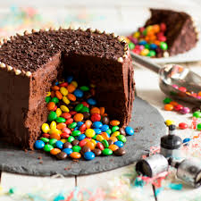 Cake Decoration Ideas With Gems by Trick Or Treat Chocolate Piñata Cake Baking Mad