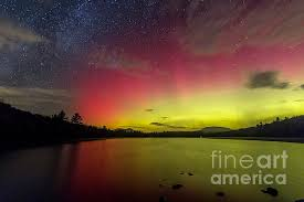 Northern Lights Fire In The Sky