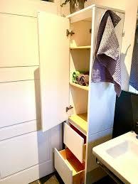 badezimmer hochschrank ikea weiß wie neu