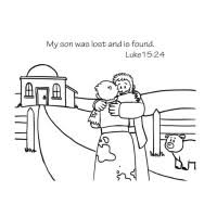 The Lost Son Coloring Page Free Download