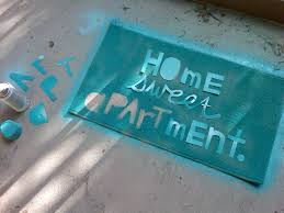 DIY Home Sweet Apartment