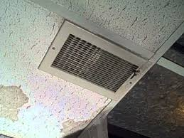 how to remove ceiling water stains from white ceiling tiles mp4