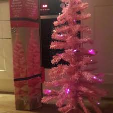 5ft Christmas Tree Asda by Find More Asda Pink 5 5ft Battery Operated Pre Lit Tree For Sale