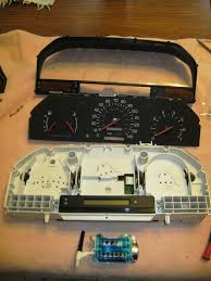 23 odometer and instrument lights 1997 volvo 850 wagon project