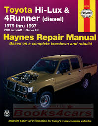 Toyota Truck Manuals At Books4Cars.com Pin By Matthew Barty On Hilux Ln65 2l 4x4 Pinterest Siwinder Turbo System 8291 Gm 62l Blazer 4wd Banks Power Toys Front Lower Fog Light Bumper Grill Pair Audi A8 Quattro 06 07 08 42 2013 Chevrolet Silverado 1500 Ltz Crew Cab 4 Door Lifted West Tn 2016 Ford F250 Hd Lariat Race Red 6 V8 Gas Off Rd Used Used Car Toyota Hilux Nicaragua 2000 Terex 402 And 402l All Terrain Crane Sterett Equipment Company 9601 Brake Rigging Set For 4wheel Trucks Shoes Levers Beams