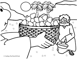 Manna From Heaven Coloring Page Pages Are A Great Way To End