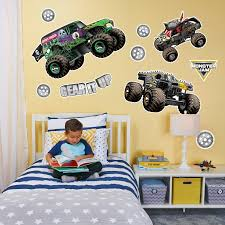 100 Monster Truck Wall Decals Jam Large Decal Products Pinterest Large Wall