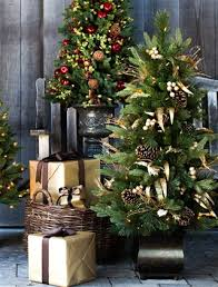 Potted Christmas Trees For Sale by Choosing The Best Tabletop Christmas Tree Balsam Hill Blog