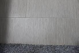 grey linen tile bathroom thedancingparent