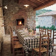 Italian Interior Design On Tuscan