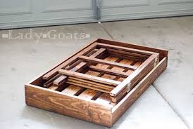 elegant wood folding table plans folding picnic table lori bearden