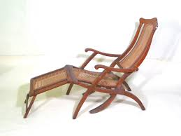 Antique Folding Luxury Wood Steamer Deck Chair, Circa 1890, England ...