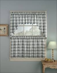 kitchen curtains and drapes door window curtains amazon black