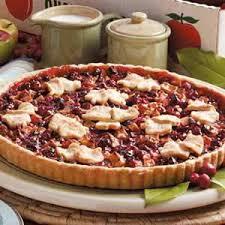 Quick Apple Cranberry Tart Recipe