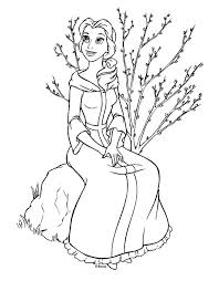 Full Image For Coloring Pages Of Belle To Print Girls 58301