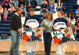 Boys Basketball Senior Night 2014 09
