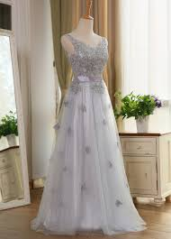 compare prices on bridesmaid dresses in silver online shopping