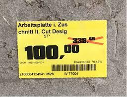 obi eichstätt arbeitsplatte steindekor 164x64 cm kein versand