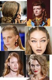 Fashion Week Spring Summer 2017 Hair Trends