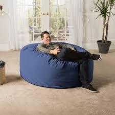 5 Giant Bean Bag Chair Chenille Cover Plum