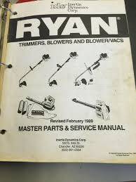 Patio Caddie Grill Manual by Best Old Ryan Idc Ryobi Repair Manuals Trimmers And Blowers And