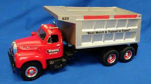 100 Red Dump Truck Buffalo Road Imports Mack 1960 B61 Redsilver MORABITO