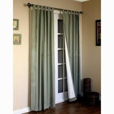 French Door Curtains Walmart by Window Treatment Ideas For Doors 3 Blind Mice French Door Window