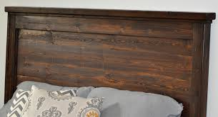 Ana White Rustic Headboard by Ana White Reclaimed Wood Headboard Pottery Barn Mason Headboard