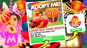 Items Where Year Is 2021 Lunar New Year 2021 Update In Adopt Me Roblox Adopt Me New Pets And Items Leaks